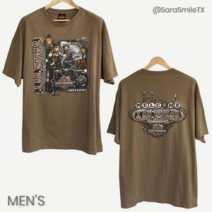 {HARLEY DAVIDSON} Las Vegas NV Steampunk T-Shirt